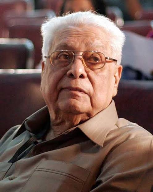 Film Director Basu Chatterjee. by .