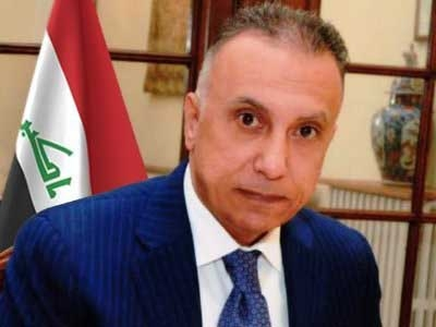 Iraqi Prime Minister Mustafa al-Kadhimi. by .