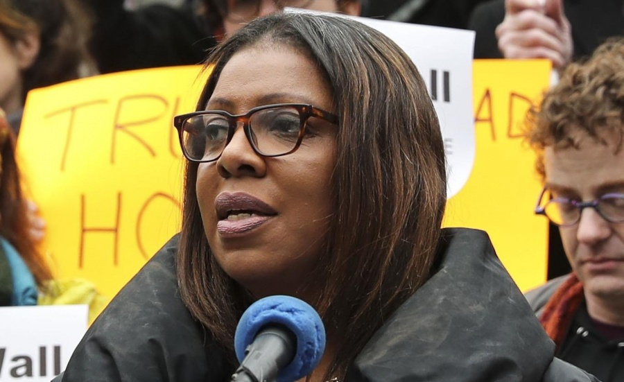 Letitia James by .