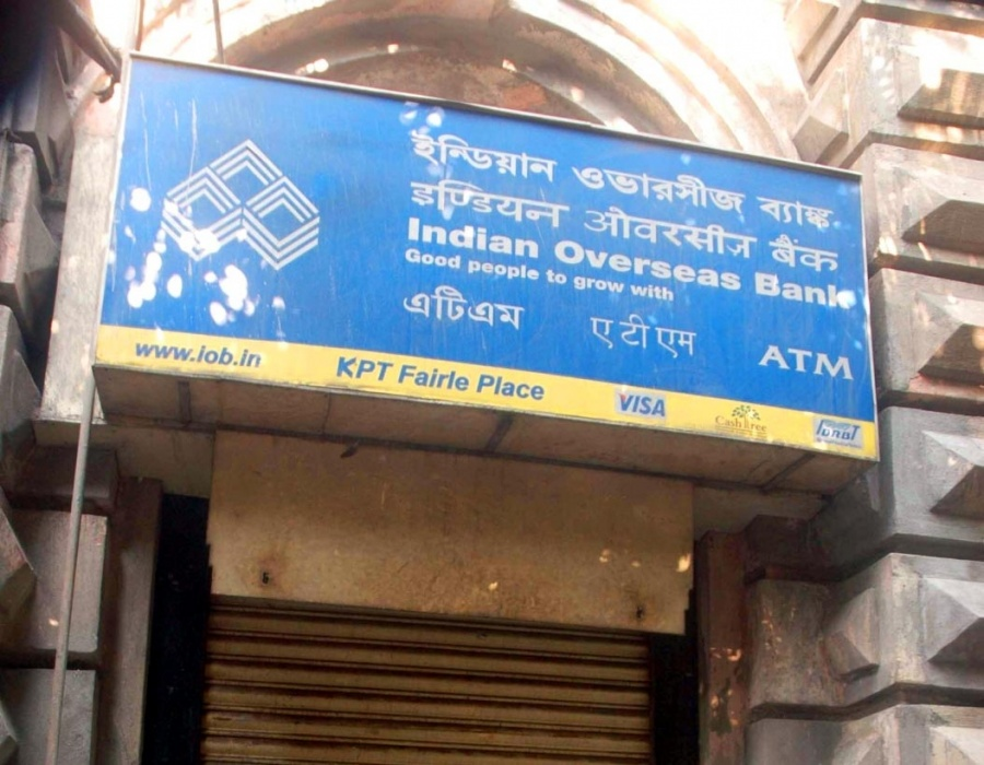 Indian Overseas Bank. (File Photo: IANS) by .