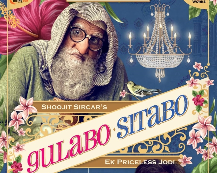 Big B, Ayushmann confirm 'Gulabo Sitabo' will release on OTT. by .