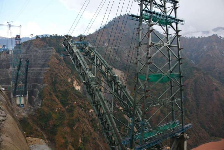 Chenab Bridge by .