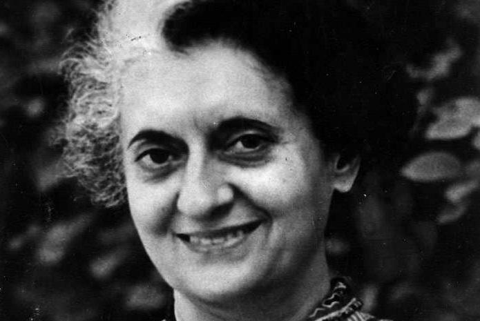 Indira Gandhi. by .