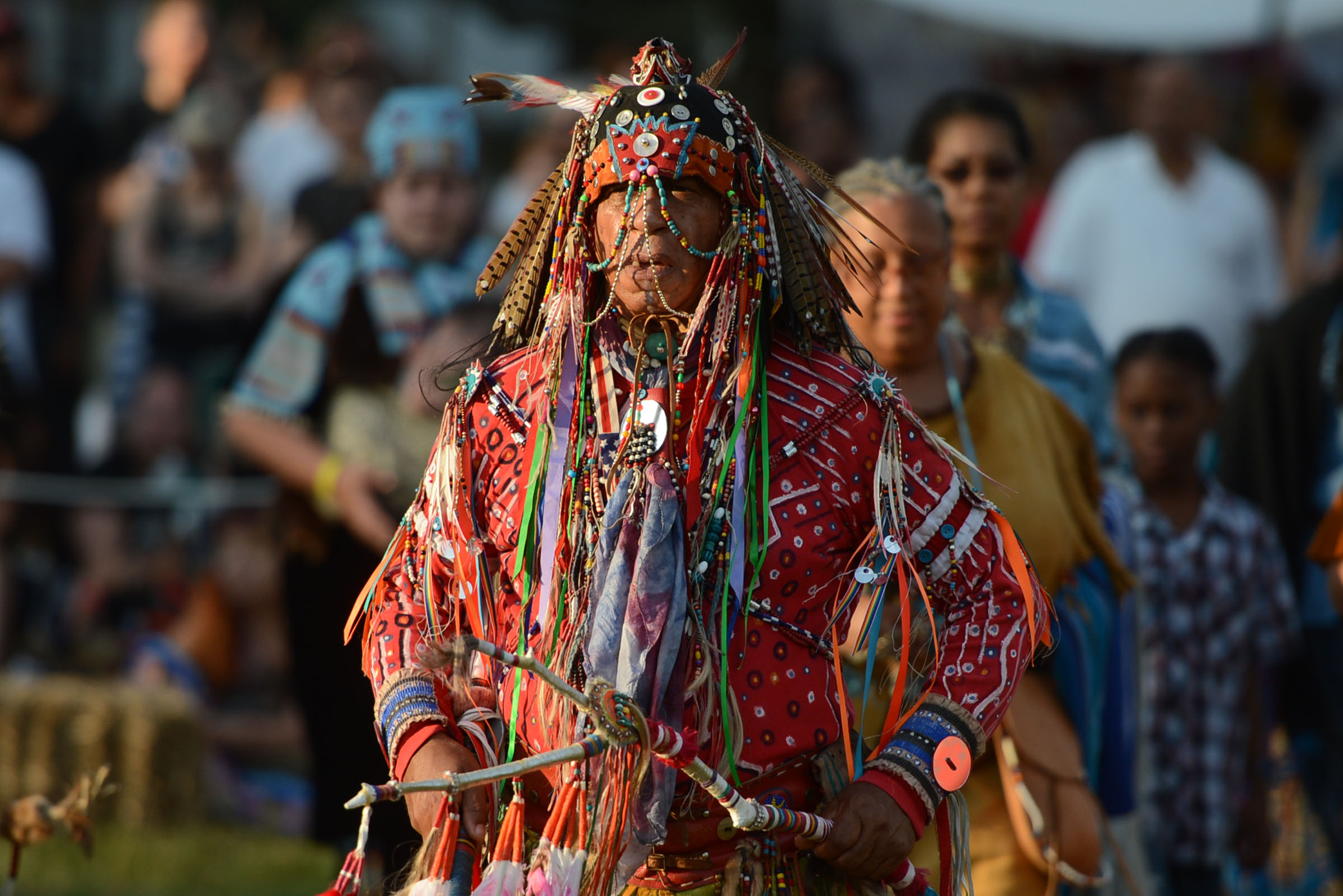 U.S.-NEW YORK-NATIVE-TRADITIONAL EVENT by .