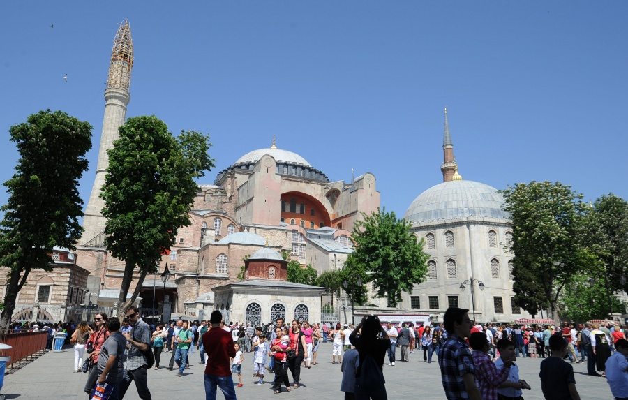 TURKEY-ISTANBUL-MUSEUM DAY-HAGIA SOPHIA by .