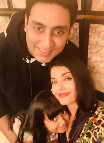 """Actor Abhishek Bachchan turned 44 on Wednesday, and the """"Bunty aur Bubbly"""" actor was showered with love, both by tinsel town crowd and Tweeple. His wife Aishwarya Rai Bachchan shared two pictures of her hubby on social media. by ."""
