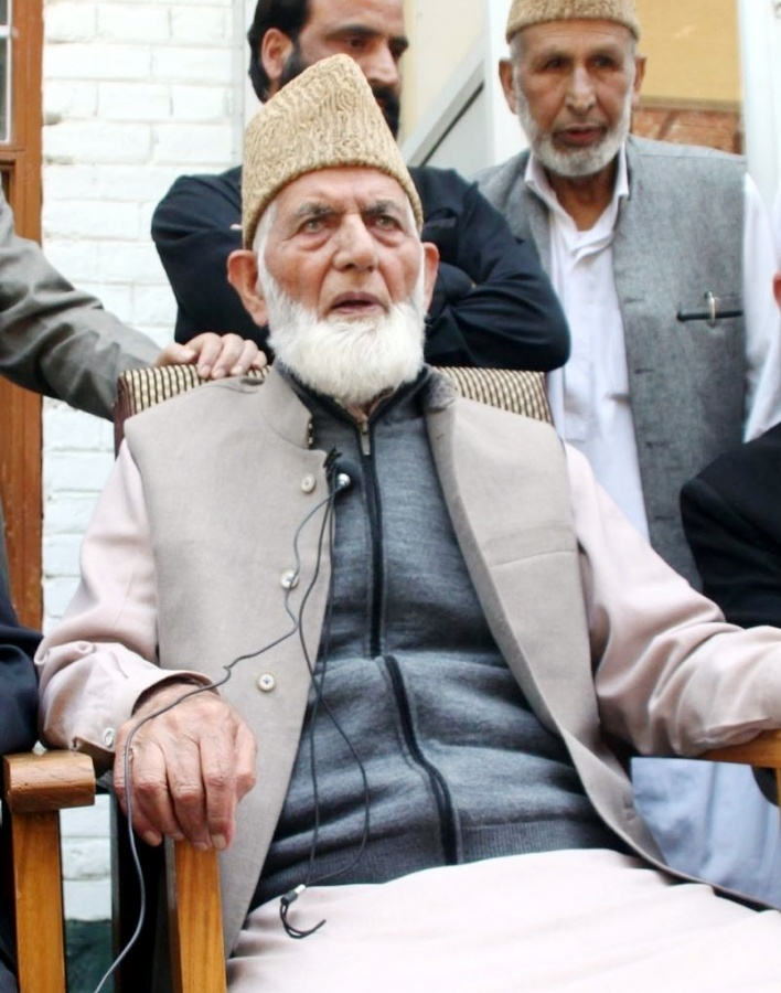 Syed Ali Shah Geelani. (File Photo: IANS) by .