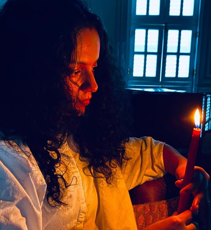 Ankita Lokhande, Kangana Ranaut participate in 'Candle4SSR' online protest. (Photo: simran sethi IANS) by .