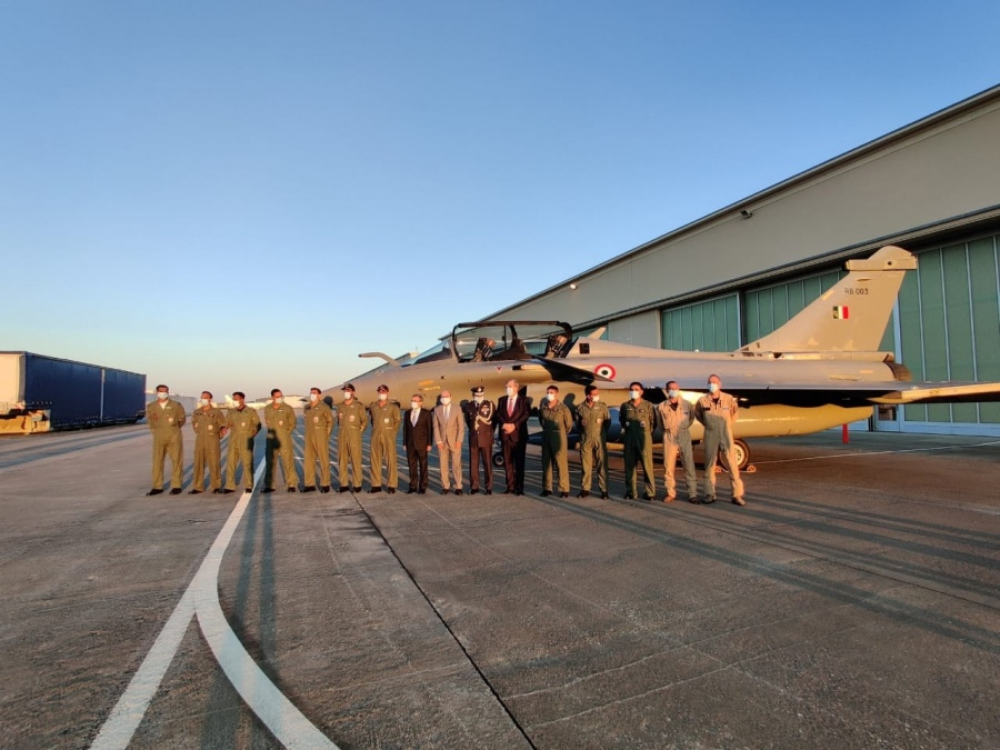 Five Rafale jets to be operational soon with HAMMER missiles. by .