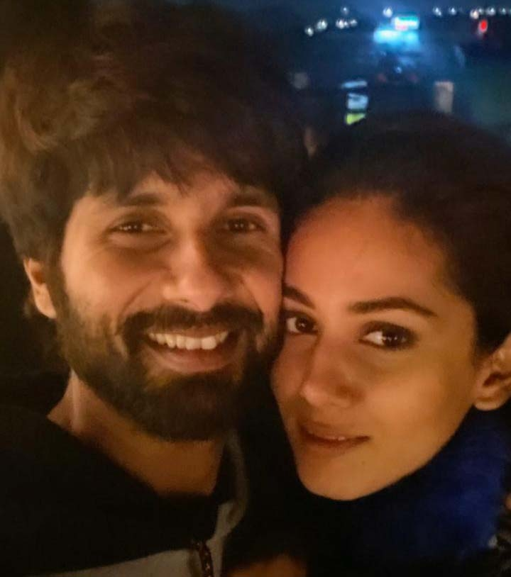 """Bollywood actor Shahid Kapoor's 39th birthday on Tuesday, his wife Mira Kapoor took to social media to wish the """"love"""" of her life. Mira took to her Instagram Stories, where she shared an adorable photograph of herself along with Shahid. In the image, the two are seen smiling at the camera. by ."""