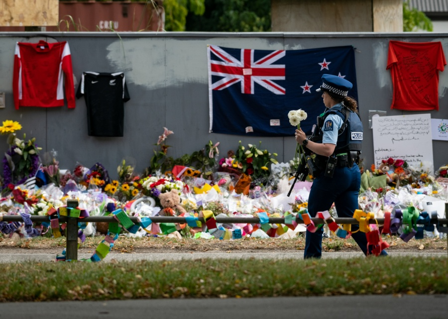 NEW ZEALAND-CHRISTCHURCH TERRORIST ATTACKS-MOURNING by .