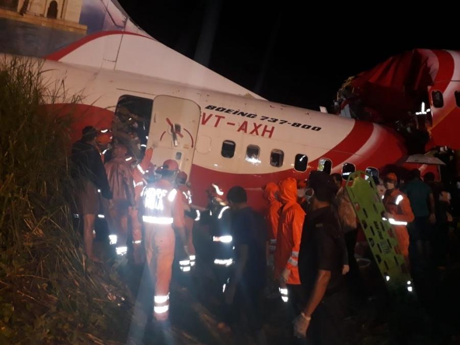 Kozhikode plane crash. by .