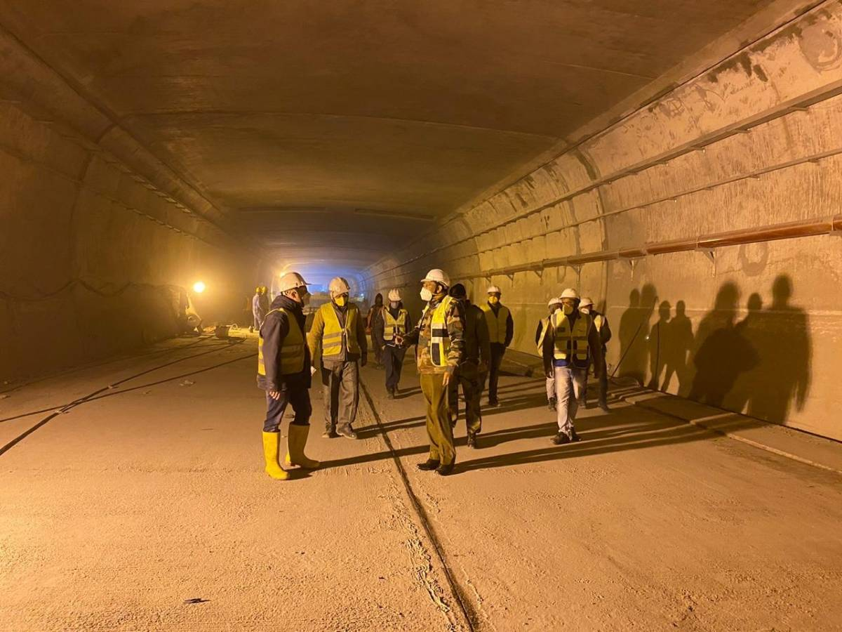 Strategic Rohtang tunnel reaches new length of 9.02 km. by .