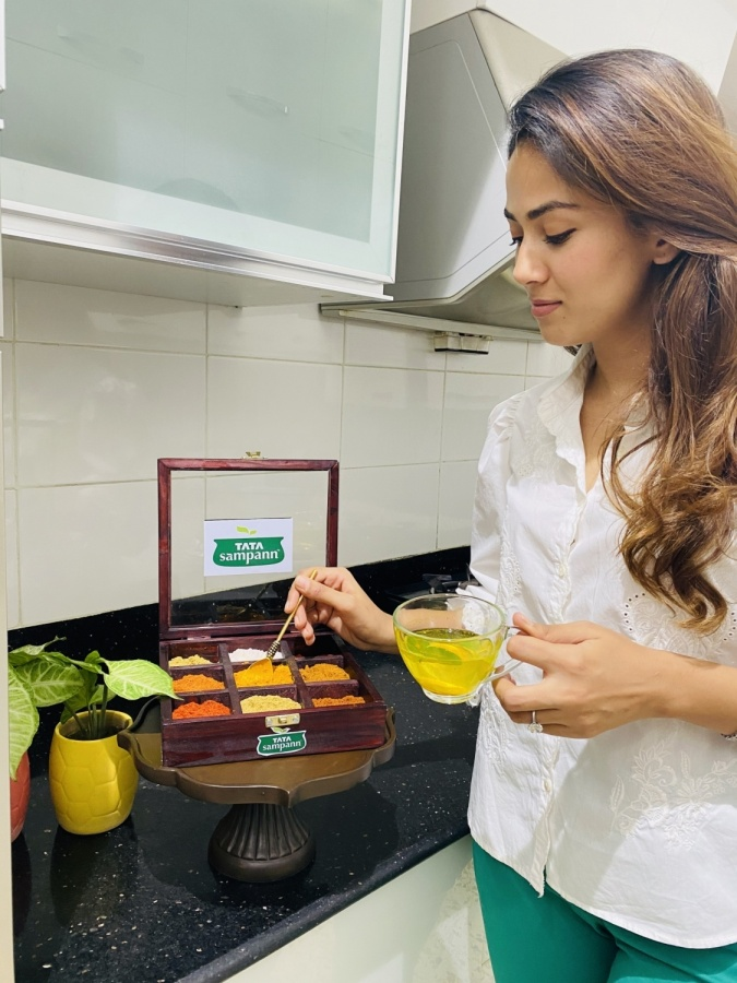 Mira Kapoor on food, health and more. by .