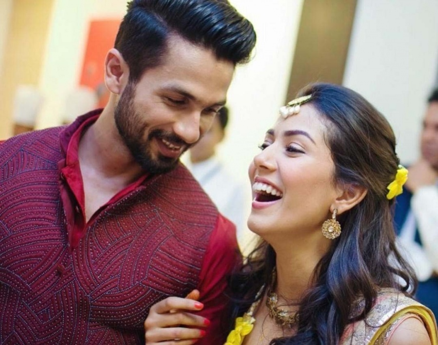 Mira to Shahid: I fall in love with you more every day. by .