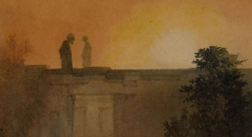 Work by Abanindranath Tagore, Source - NGMA. by .