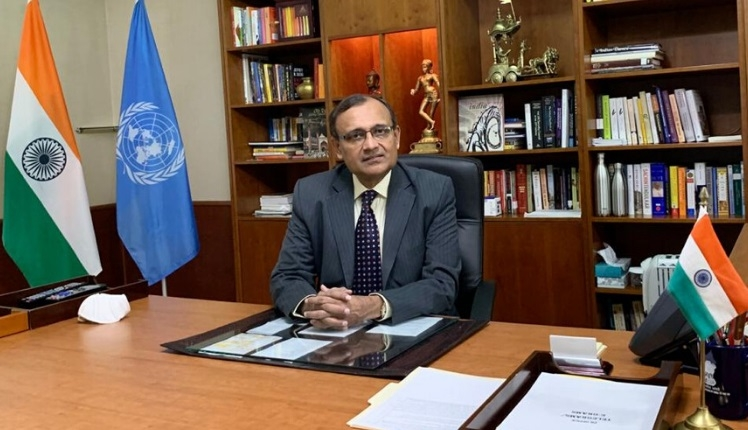 TS Tirumurti, India's Permanent Representative to the United Nations (Photo: Indian Mission/IANS) by .