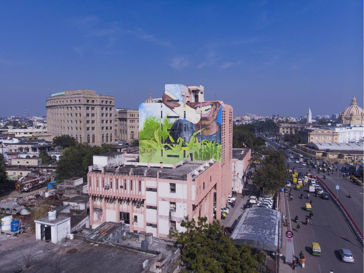 Reimagining public art, one Indian city at a time. by .