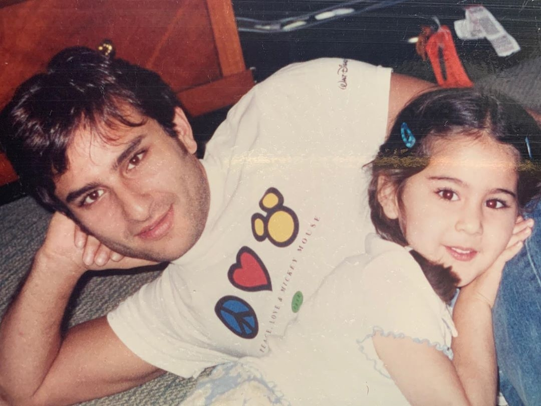 Sara Ali Khan says dad Saif is her 'Mickey Mouse'. by .