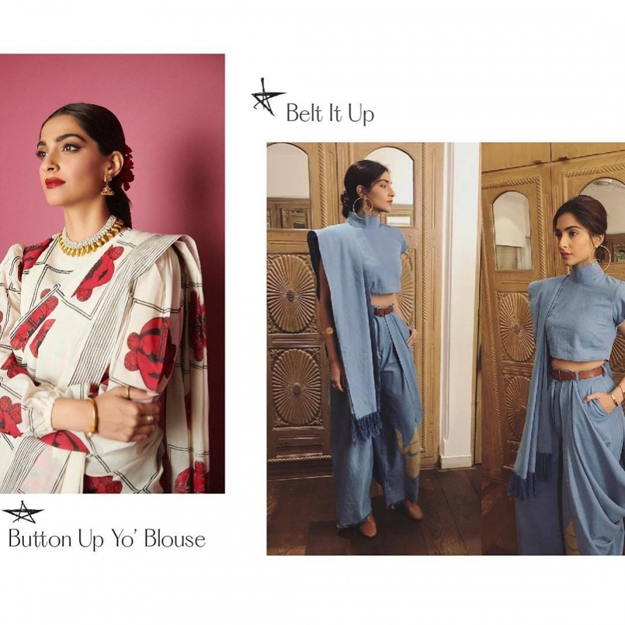 Sonam Kapoor inspires fashionistas with her #TakeTwoWithSonam challenge. by .