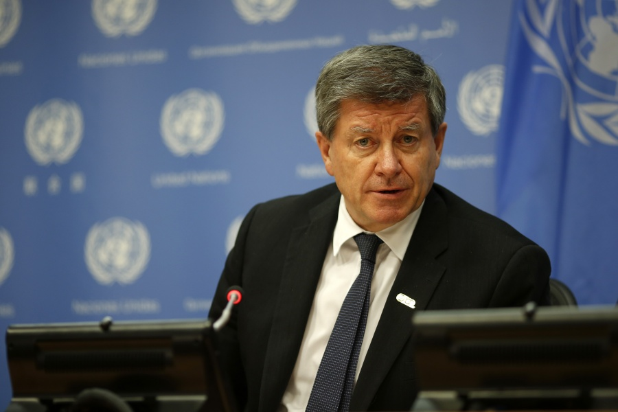 UN-GENERAL ASSEMBLY-ILO-PRESS BRIEFING by .