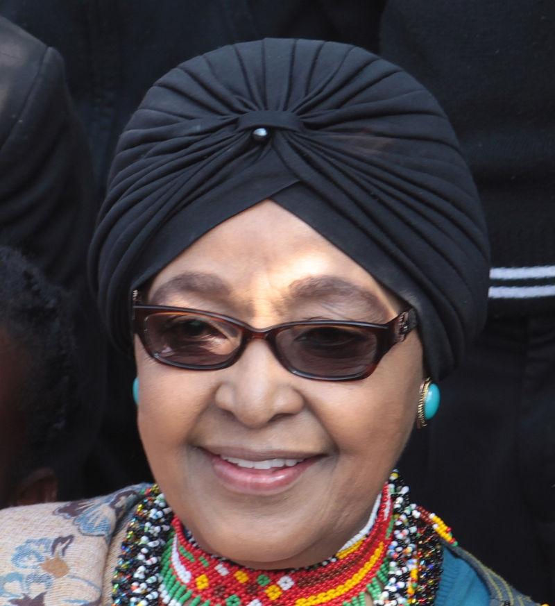 Winnie Mandela. (Photo Courtesy: Wikipedia) by .