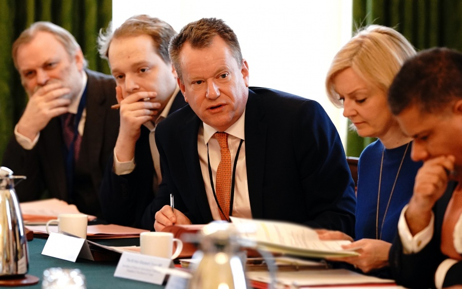 Boris Johnson - EU negotiating mandate meeting by .