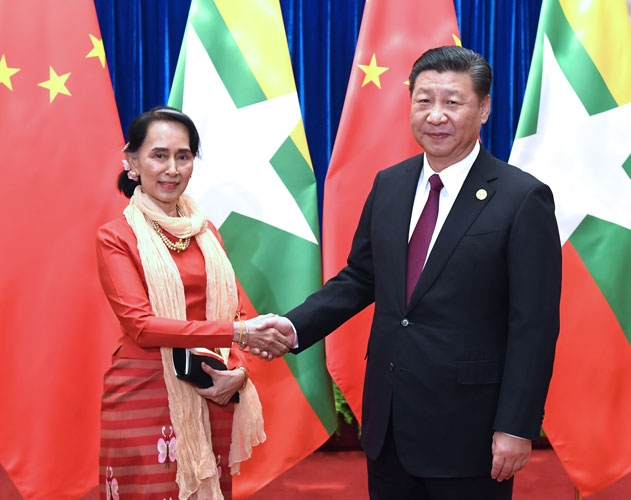 Myanmar wriggling out of Chinese lair, reduces CMEC commitment. by .