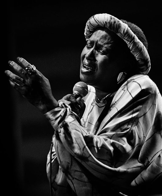 Zenzile Miriam Makeba. (Photo Courtesy: Wikipedia) by .