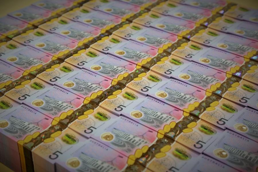 AUSTRALIA-RBA-NEW FIVE AUSTRALIAN DOLLAR NOTE by .
